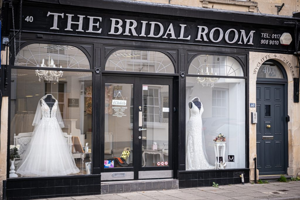 The Bridal Rooms, Bristol Shop Exterior