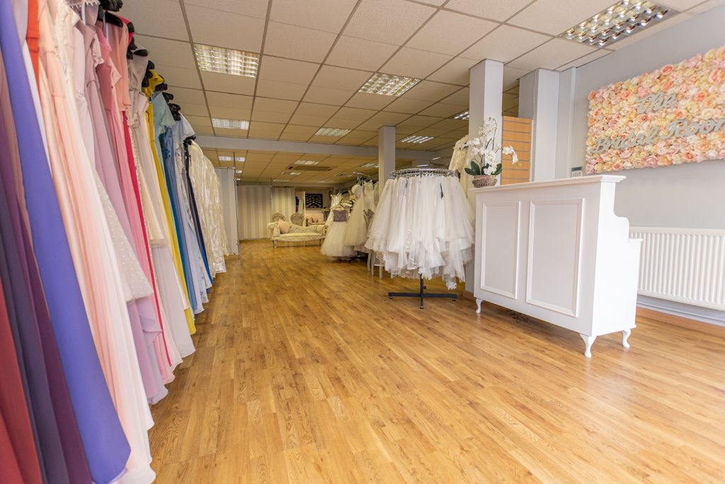 The Bridal Rooms, Bristol Shop Interior